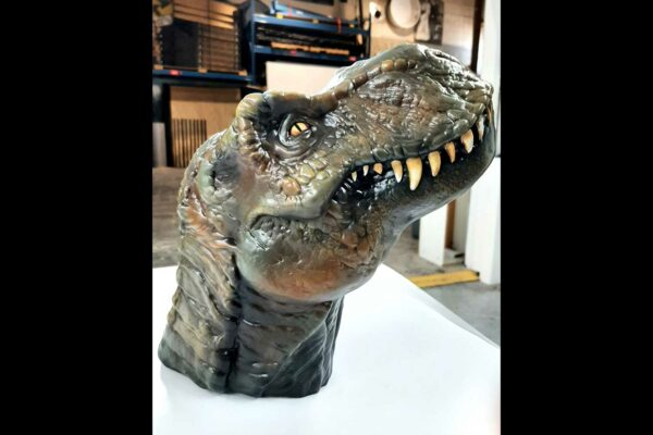 3D Resin Printed Model with Airbrushed Paint Treatment