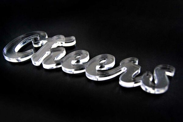 Laser Cutting Services - Laser Cut Clear Acrylic